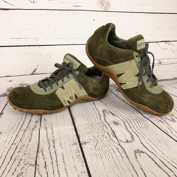 38b16d63bd1 Merrell Shoes | Suede Sprint Blast Sneakers | Poshmark